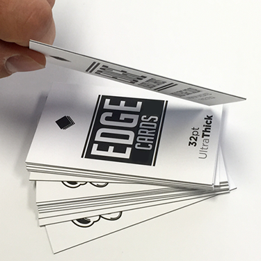 Edge 32pt black biz cards how high creative edge 32pt black biz cards colourmoves Gallery